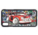 Koolart Stickerbomb & Licensed Classic Mini Works Car Image Mobile Phone Case Cover Fits iPhone